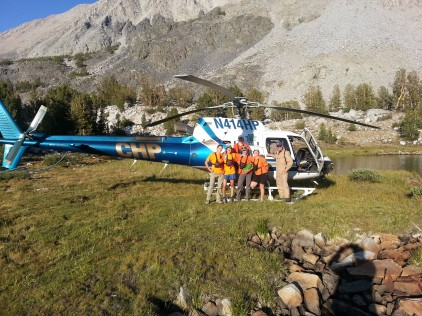 Perhaps one of the first all-female rescue teams in Inyo SAR history!