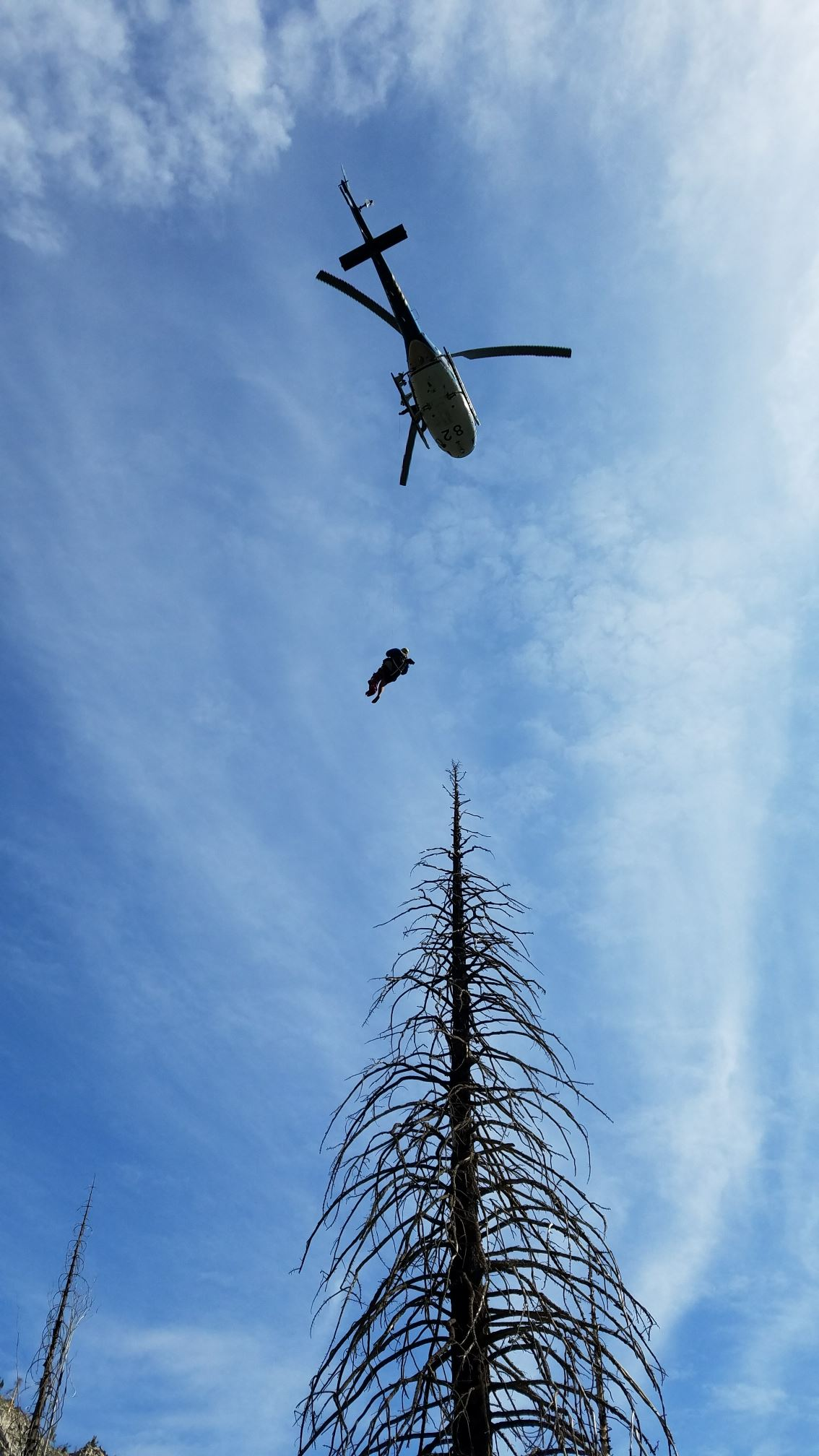 Baxter Pass Extended Wait for Rescue | Inyo County Search ...