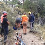 North Fork of Big Pine Creek – Ankle Injury
